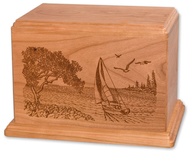 Sailboat Cremation Urns