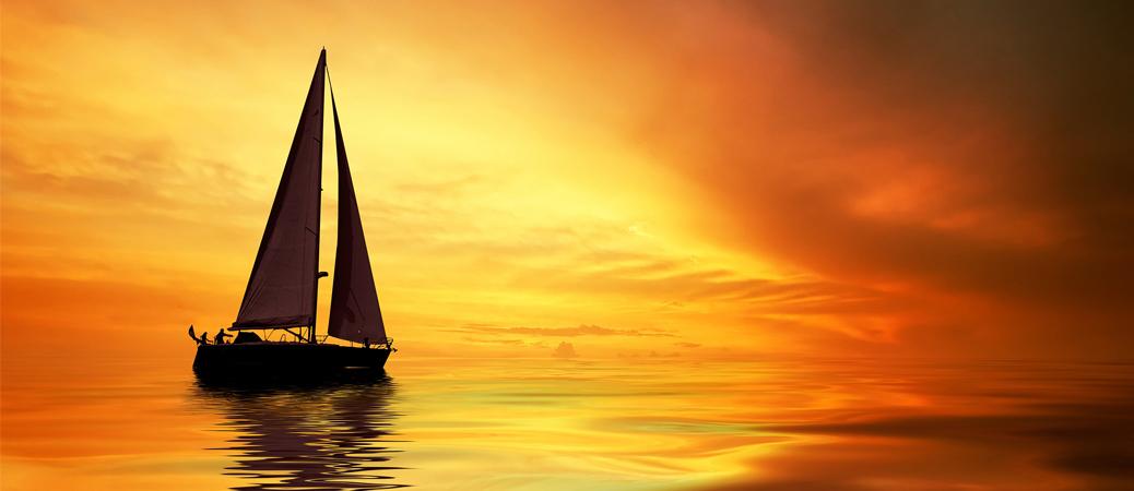 Sailing Cremation Urns