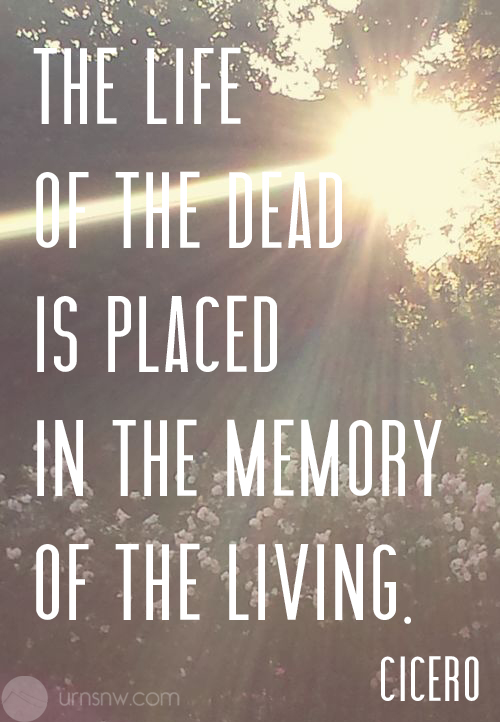 Funeral & Eulogy Quotes