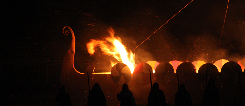 Viking Funeral Pyre