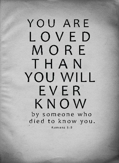Romans 5:8 Life celebration