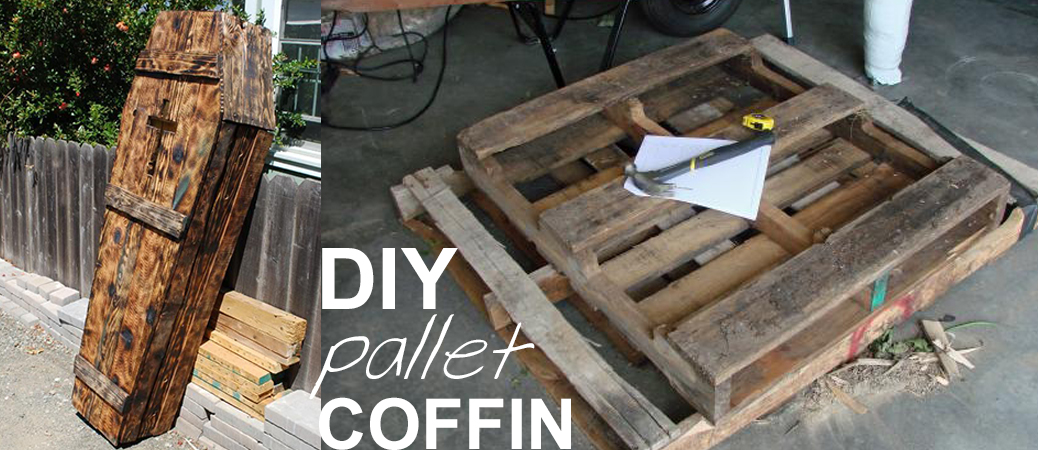 Pallet Coffin Tutorial