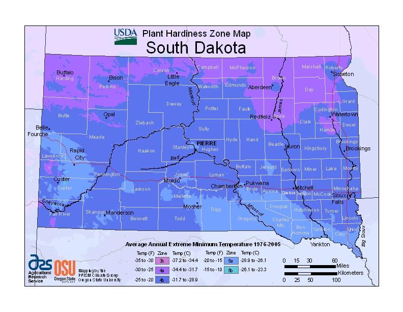Memorial Trees for South Dakota
