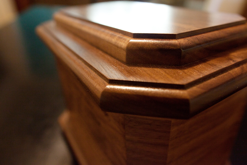 Detail - Wood Urns