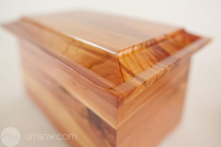 Cedar Wood Funeral Urn