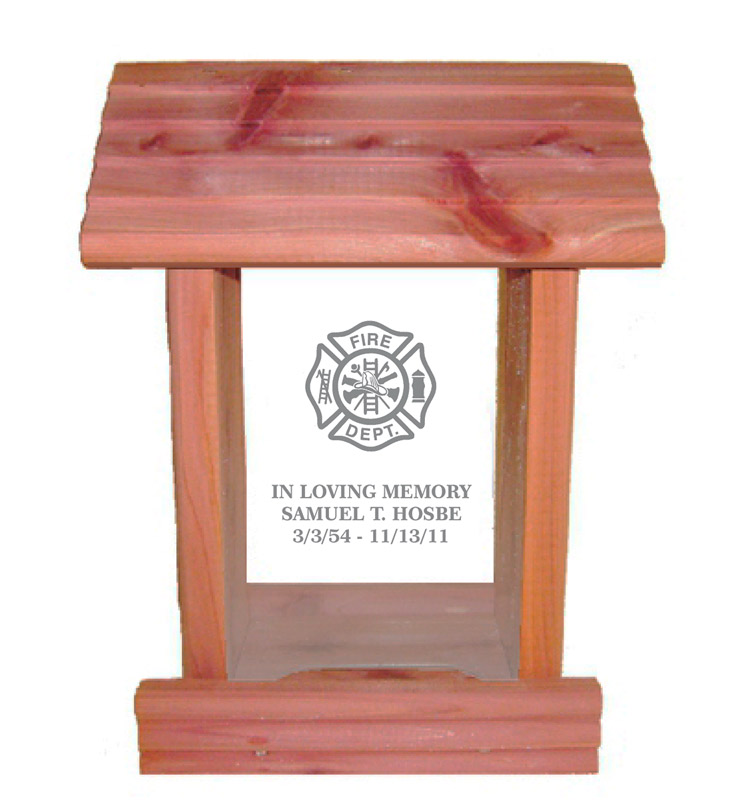 Fire Department Memorial Gift Idea