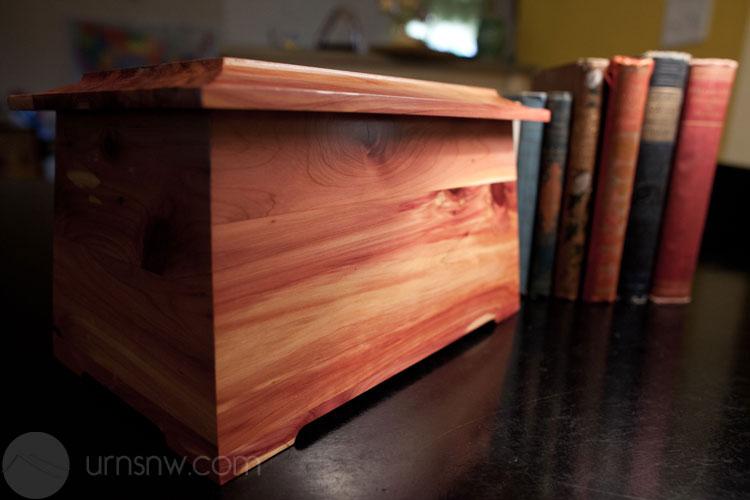 Wooden Cedar Urn