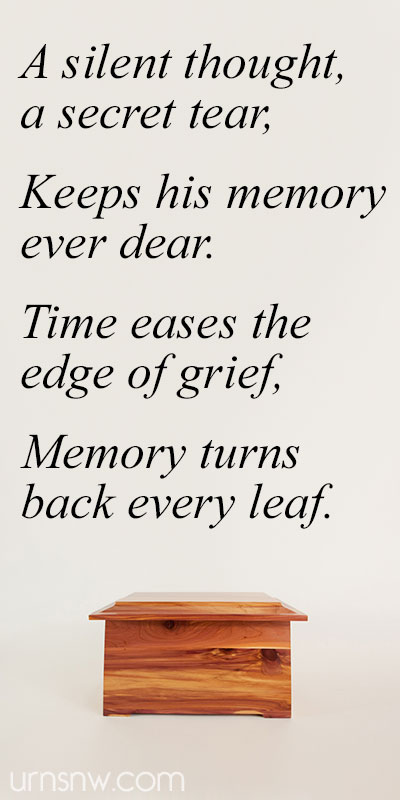 Urn Epitaph Quotes