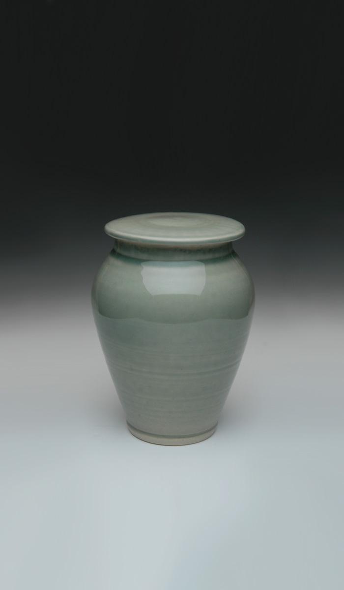 Hand made ceramic urns