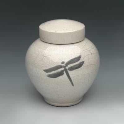 Handmade ceramic keepsake urns