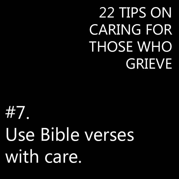 Use Bible verses with care