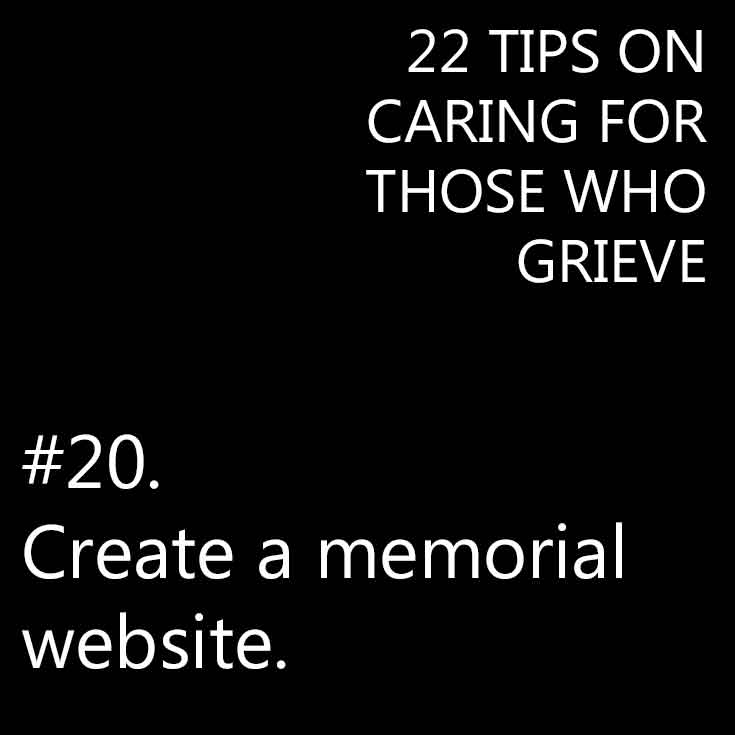 Caring for someone grieving the loss of a loved one
