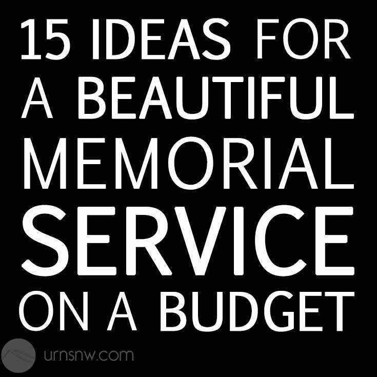 Affordable tips for budget-friendly memorials