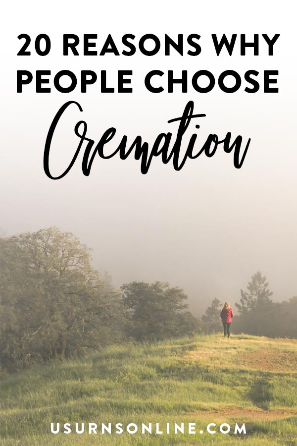 Reasons why people are choosing cremation