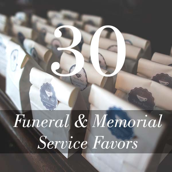 Memorial Service Favor Ideas