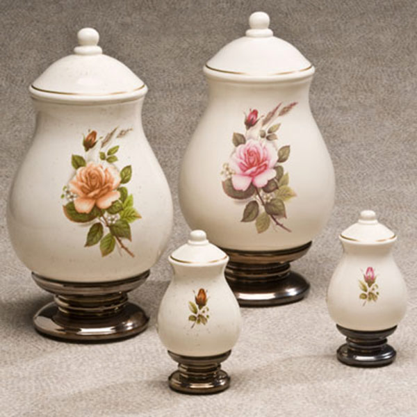 Flower Cremation Urns