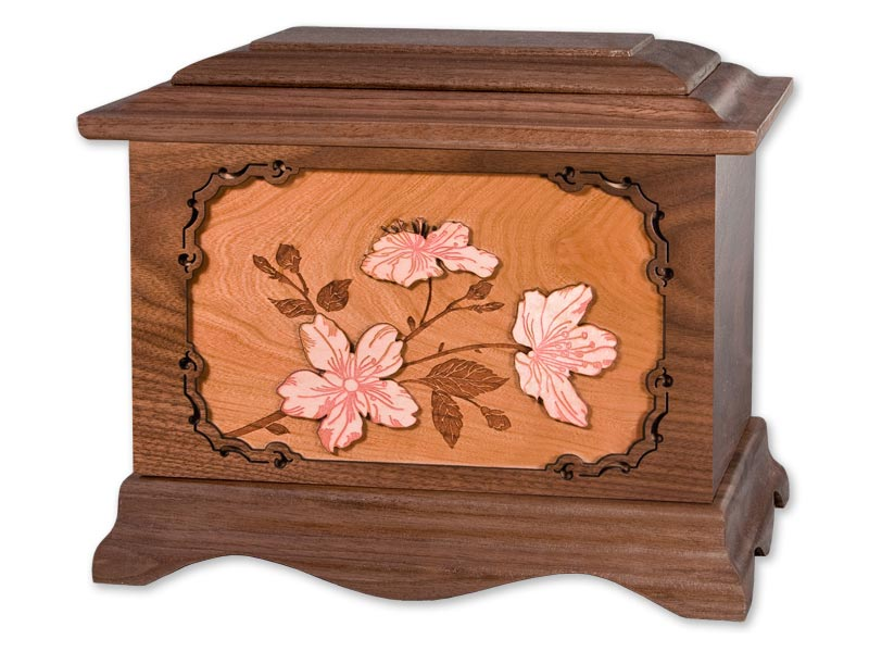 Flower Cremation Urns - Cherry Blossom