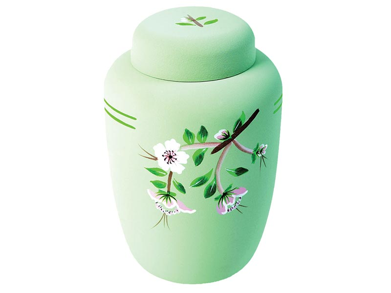 Biodegradable Flower Cremation Urn