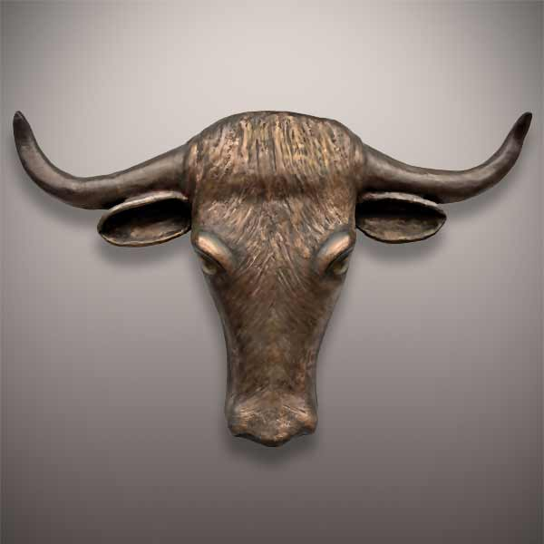 Wall Mounted Cowboy Cremation Urn