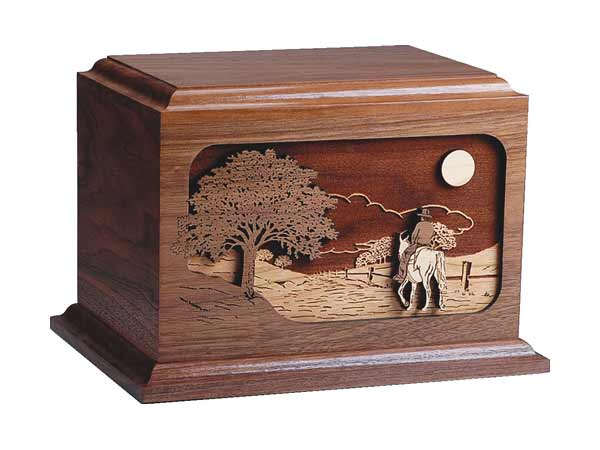 Cowboy Cremation Urns