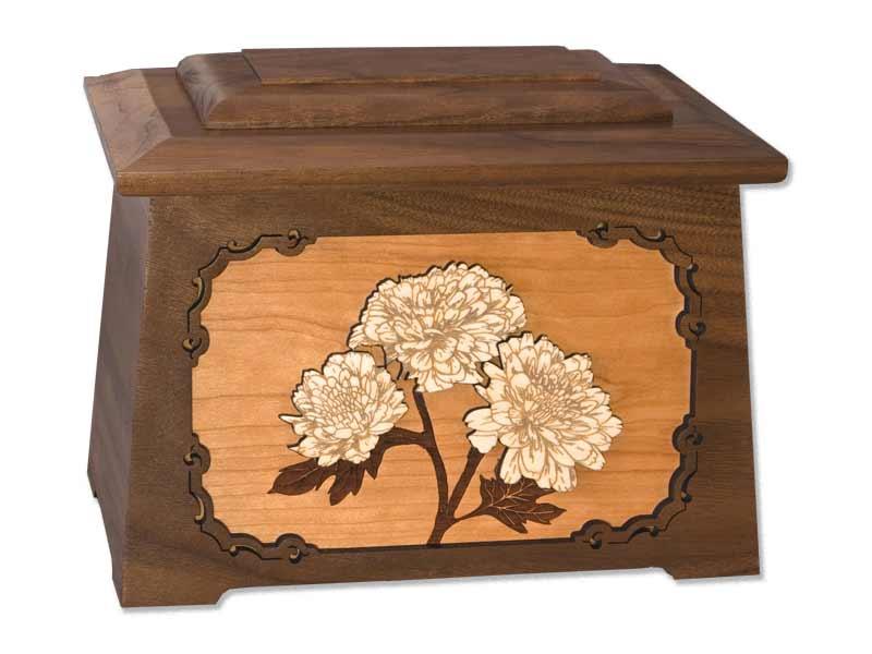 Flower Cremation Urn