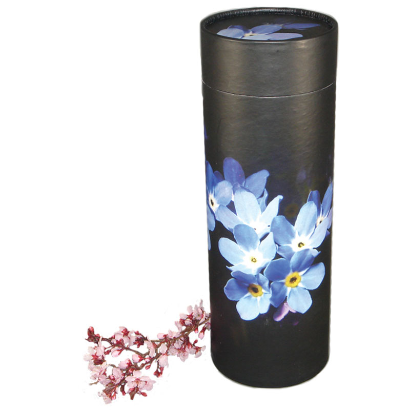 Forget Me Not Flower Cremation Urn