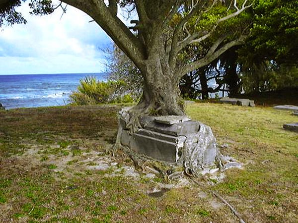 historic cemetery in Kalaupapa National Historical Park