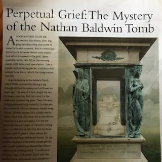 Mystery of the Nathan Baldwin Tomb