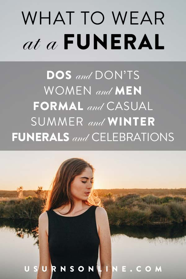 Complete guide for funeral outfits, dos and don'ts, and more