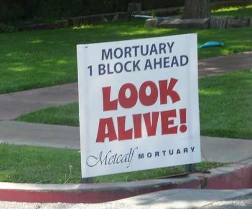 Mortuary Humor