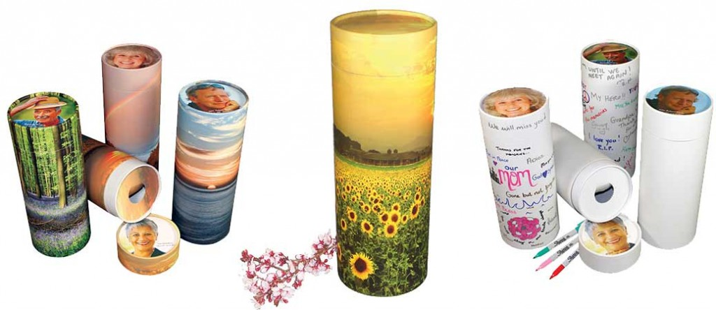 Scattering ashes with urn tubes