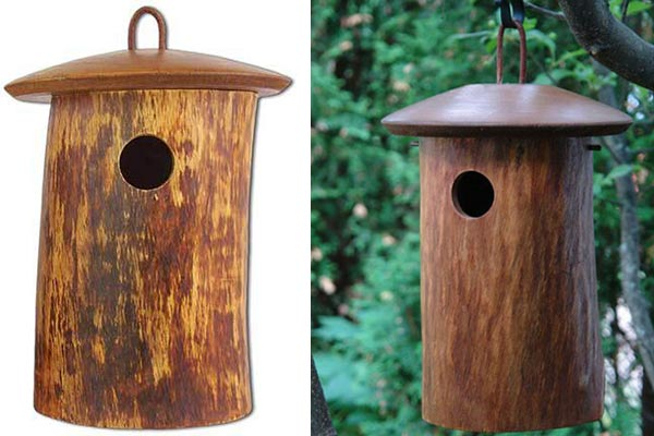 Birdhouse Cremation Urn