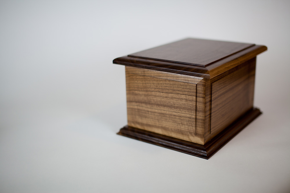 "Boston II ""Double Urn"" in Walnut"
