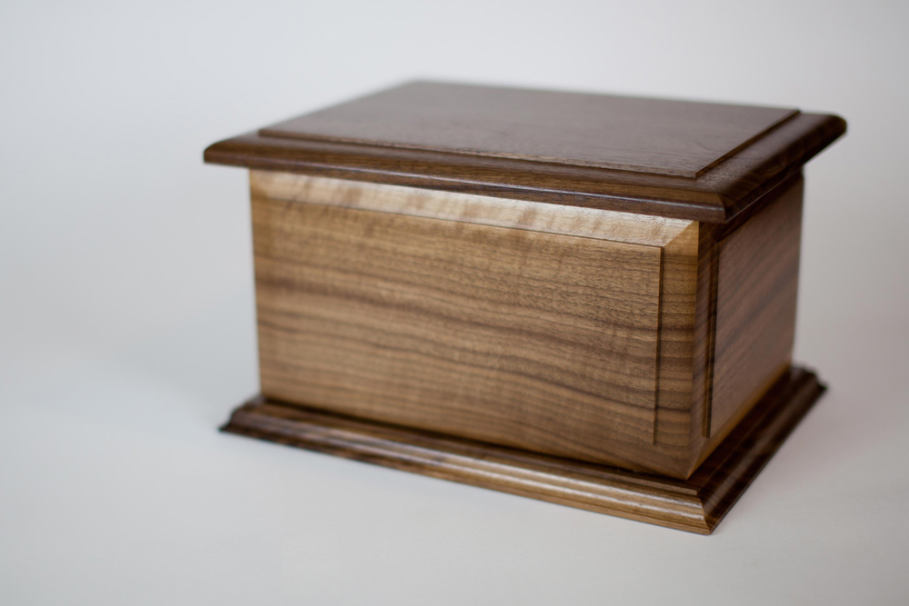 Walnut Wood Companion Urns