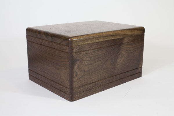 Walnut Wood Cremation Urn