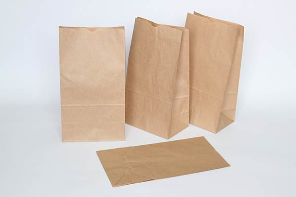 Brown paper bags for scattering ashes