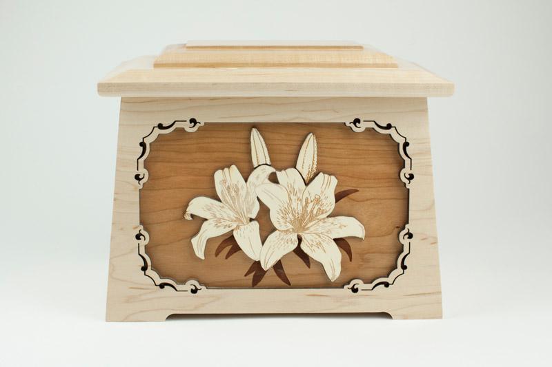 Lily Memorial Urn