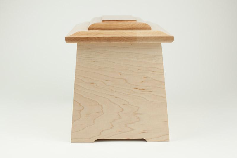 Wood Memorial Urns