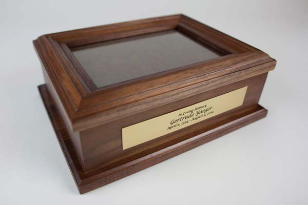 Keepsake Chest for Scattering Ashes