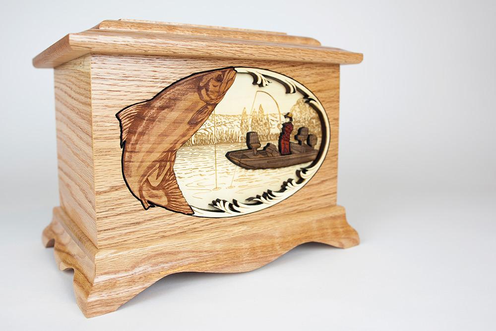 Fishing Urn