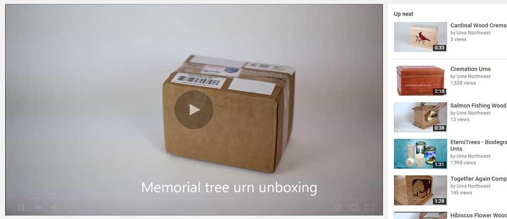 Unboxing an Eternitrees Urn