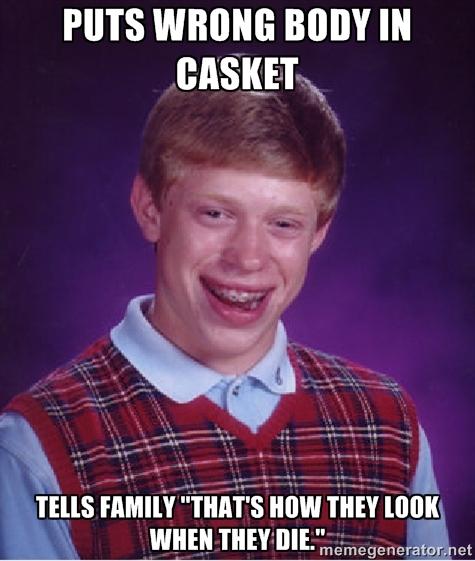 Wrong Body in Casket