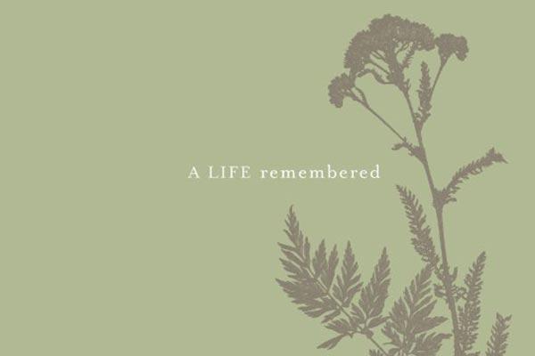 Memorial Service Guest Book