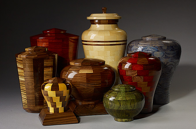 Hand Turned Urns Collection