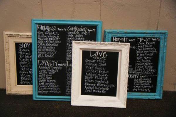 Chalkboard Guest Book