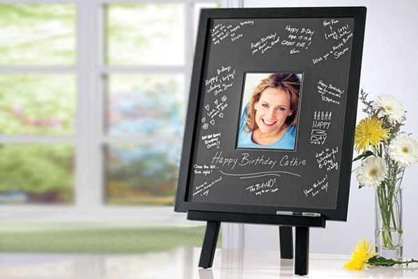 Black Matte Signature Photo Frame
