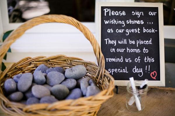 Memorial Stones Guest Book
