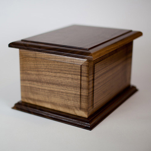 Boston II Companion Urn in Walnut
