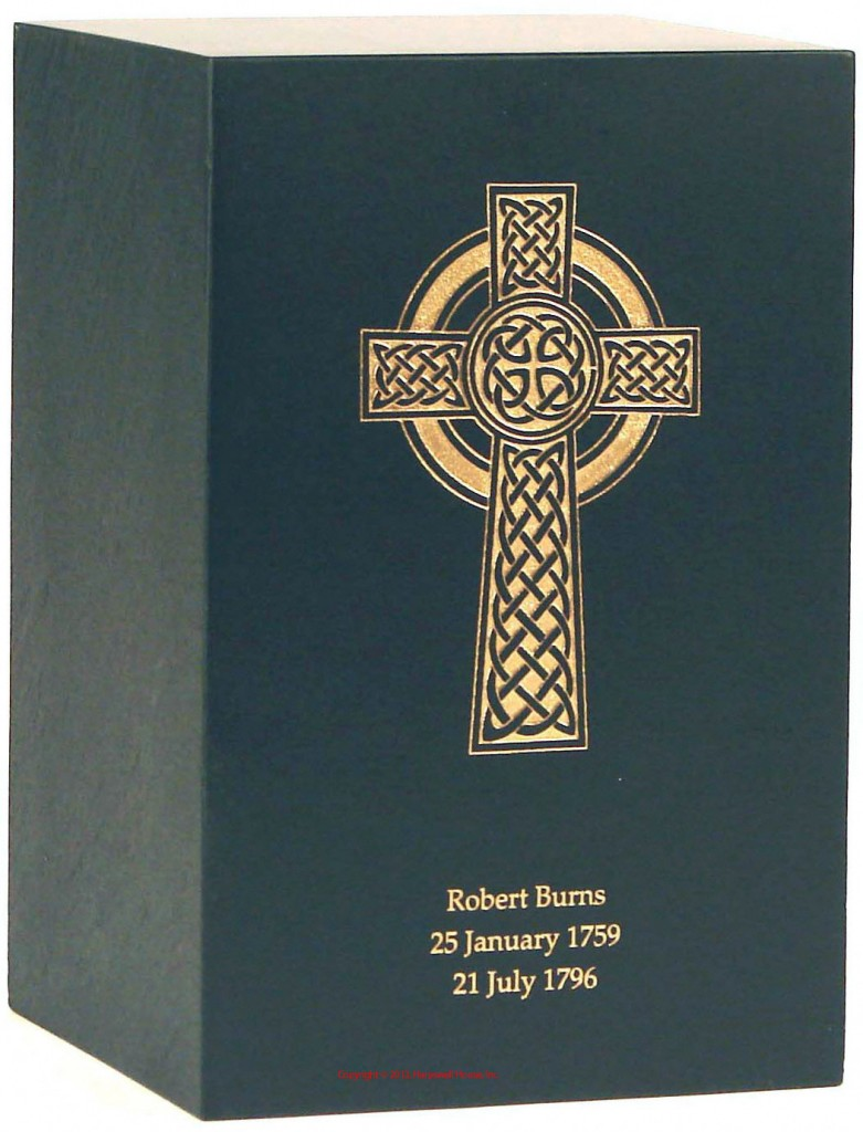 Irish Green Stone Cremation Urn