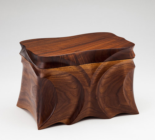Black Walnut Cremation Urn